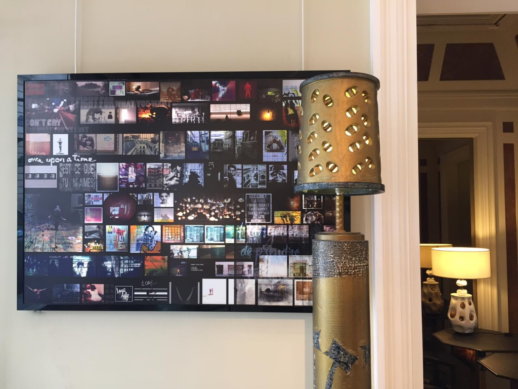 MOOD OF LIFE - 100x70- Tableau lumineux- tirage plexi - cadre plexi noir