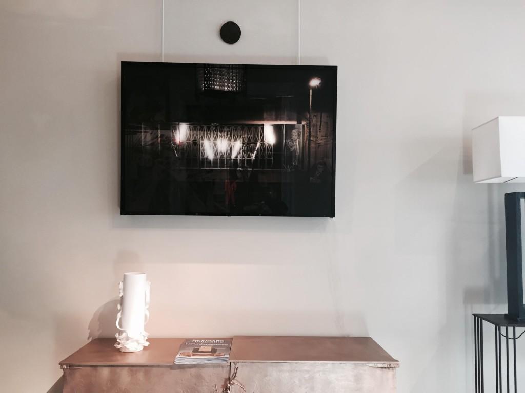 PICTURE PARTY - 100x80-Tableau lumineux- tirage plexi - cadre plexi noir